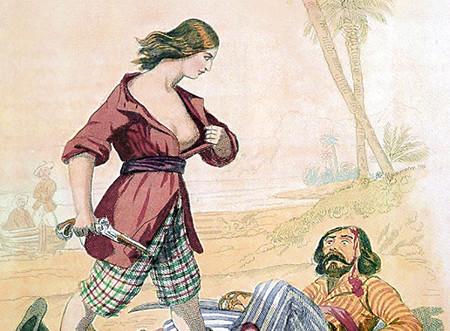 Portada de Las mujeres pirata